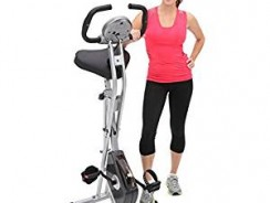 Exerpeutic Folding Magnetic Upright Exercise Bike Review