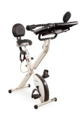 FitDesk Folding Exercise Bike with Massage Bar Review